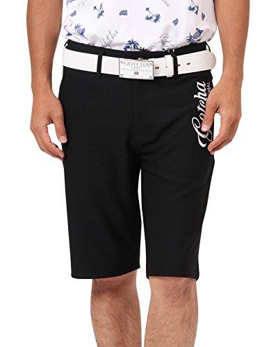 [ガッチャ ゴルフ] GOTCHA GOLF パンツ オリジナル ジャガード ショーツ 182GG1907 ブラック Mサイズ