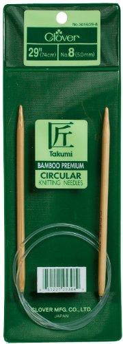Clover Bamboo Circular Knitting Needles 29 Inch No.13 3016/29-13