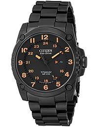 Citizen Men's BJ8075-58F Eco-Drive STX43 Shock Proof Titanium Watch