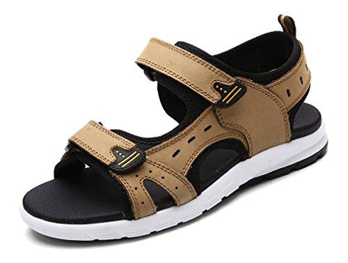 Respeedime Mens Durable Non-Slip Sandals Summer Beach Shoes