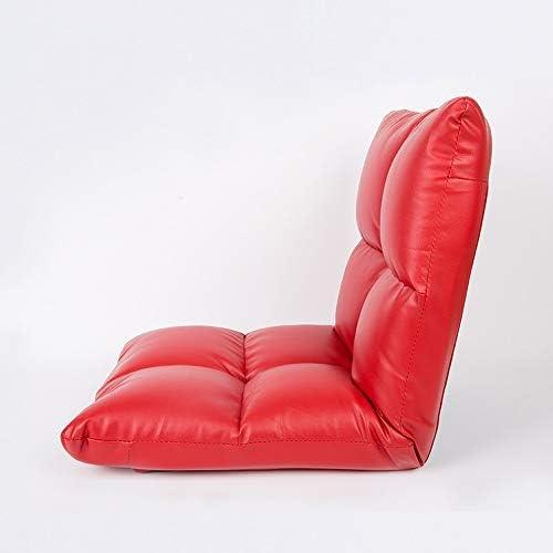 ビーズクッション 創造的な折り畳み怠惰なソファ畳シングルモダンミニマムベッドルームバルコニー小さなソファ生地は取り外し可能で洗える BRFDC (Color : B)