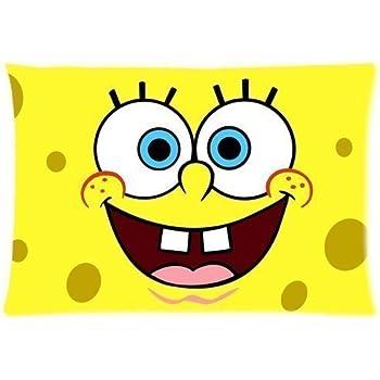Amazon Com Meirdre Pillow Cases Spongebob Squarepants And