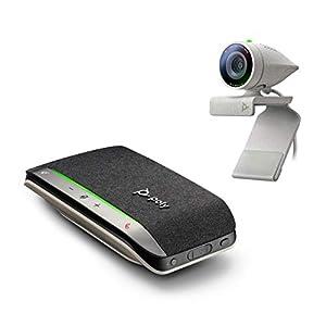 Flashandfocus.com 41deCZ40xcL._SS300_ Poly - Studio P5 Webcam with Poly Sync 20+ Speakerphone Kit (Plantronics + Polycom) - 1080p HD Professional Video…