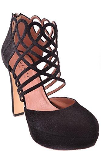 Talons Femme À Chaussures Cuir set Mcbi302155o Noir Twin 7qURnx