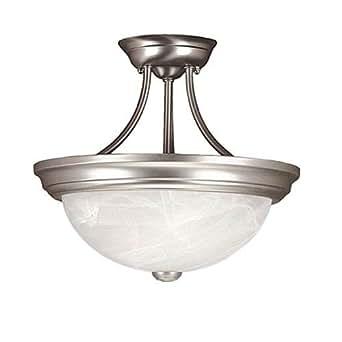 Amazon.com: Millennium iluminación 573 2 Light Semi-Flush ...
