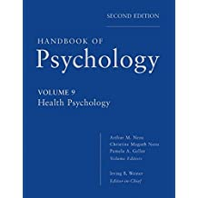 Handbook of Psychology, Health Psychology (Volume 9)