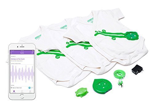 Mimo Smart Baby Breathing & Activity Monitor, 0-3 months by Mimo