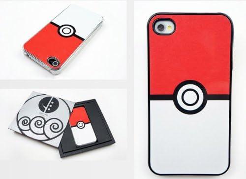 Pokemon Pokedex Pokeball Pokedeck rétro Coque rigide pour iPhone 4 4S Vintage Version