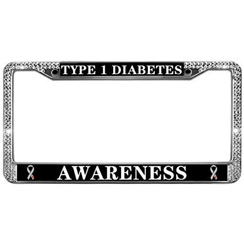 diabetes license plate frame - 4