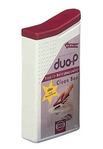 Sebo 0478AM Duo-P Clean Box Cleaning Powder with Built in Spot Brush