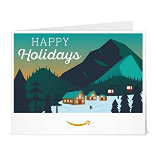 Amazon Gift Card - Print - Holiday Mountain (B07K2VRZYL) | Amazon price tracker / tracking, Amazon price history charts, Amazon price watches, Amazon price drop alerts