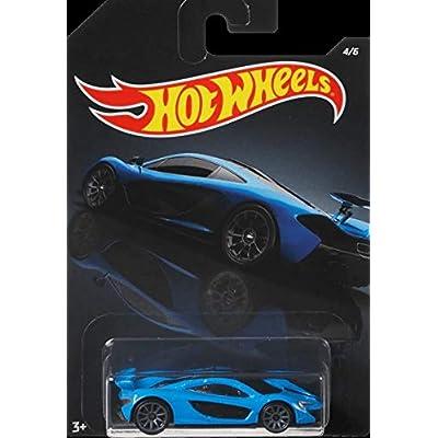 2020 Hotwheels Walmart Exclusive Exotics Mix Series Blue McLaren P1: Toys & Games