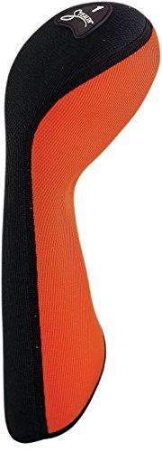 STEALTH Club Covers 11110 Driver Golf Club Head Cover, Flame Orange/Black by STEALTH Club Covers