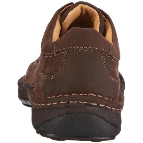 Clarks Nature Three   - Zapatos con cordones Derby para hombre Marrón (Ebony Oily)