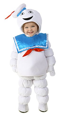 Princess Paradise Baby Boys' Ghostbusters Stay Puft, White/Blue, X-Small