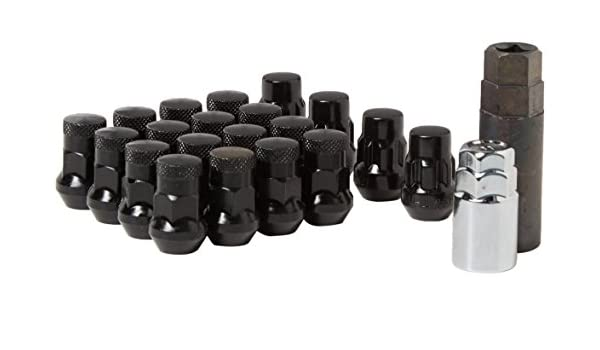 Dorman 711-355H Pack of 20 GunMetal Lock Nuts with Key