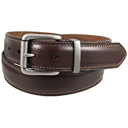 Dickies Men's 35Mm Feather Edge Nickel Belt