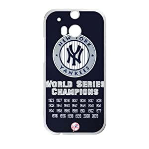 MLB New York Yankees Cell Phone Case for HTC One M8