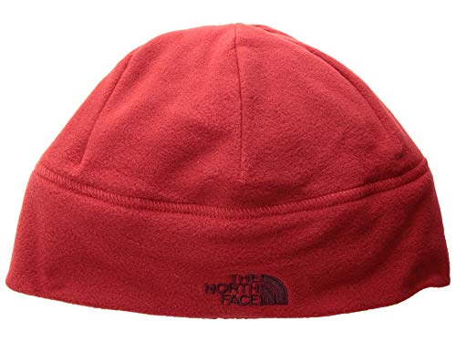 (The North Face Unisex Standard Issue Beanie Rage Red/Fig Heather LG/XL)