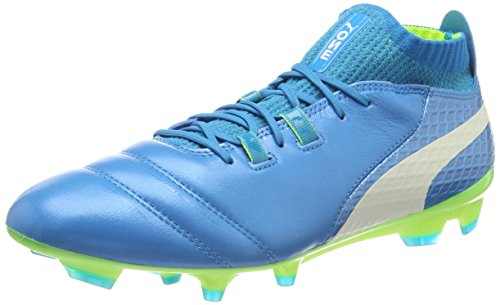 De Homme safety Football One Fg atomic Puma 17 Blue Bleu Yellow White 1 Chaussures 7fWxXnS