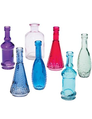 Mini Bottles Set of 7