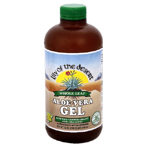 Lily of the Desert Aloe Vera Gel, Whole Leaf, 32-Ounces