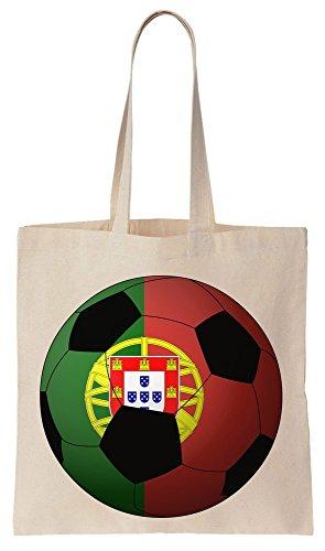 Portugal 2016 Football Sacchetto di cotone tela di canapa