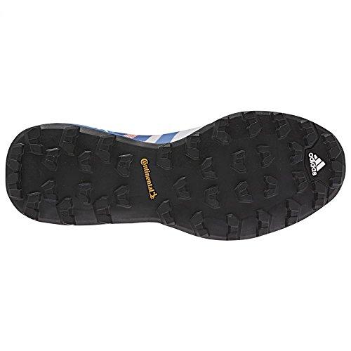 Adidas al aire libre de los zapatos corrientes de 2016 Terrex Agravic Trail - Af6152 (trauma verde / Super Blush / Ray Blue / Vapour Pink