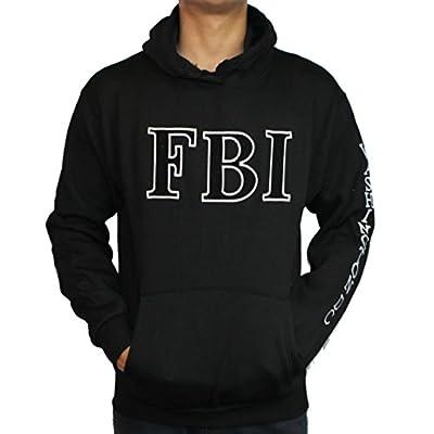 Washington DC FBI Non-Zip Hoodie Black