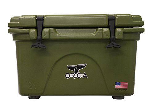 ORCA ORCG026 Cooler with Extendable flex-grip handles for co