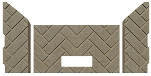 PelletStovePro - Whitfield Pellet Stove Advantage Plus HERRINGBONE Cera Firebrick - 117500015 (Herringbone Firebrick)