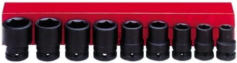 Ampro A5621 8 Piece 3//4-Inch Drive Impact Socket Set