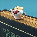 Faston Marcador de livro 3D estéreo de desenho animado, marcador de livro louco, adorável e louco para uma leitura mais diver