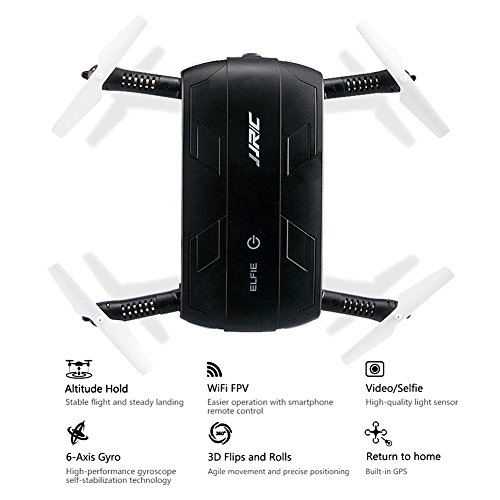 JJRC-Pocket-Four-Axis-Folding-Aircraft-Aerial-Photography-Unmanned-Picture-Screen-WIFI-Real-time-Transmission-With-High-Definition-Camera-360-Degree-Pattern-Tumbling-A-Key-Return