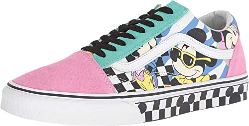 Vans Mens Old Skool (Disney) 80s Mickey True White Size (11.5 M US Women / 10 M US Men, 80's Mickey/True White)