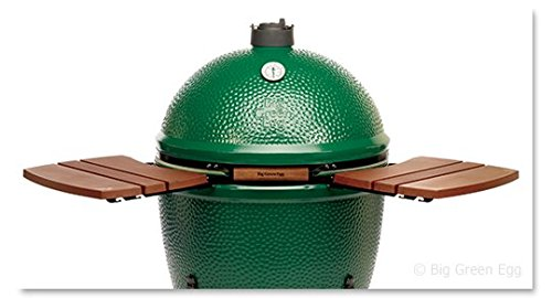 Big Green Egg Composite Shelves EGG Mates for Small to XX Large Big Green Eggs(2 shelves with three slats) Authentic Big Green Egg Grill & Smoker Accessories, A Must For Big Green Egg Users (X-Large) by Big Green Egg