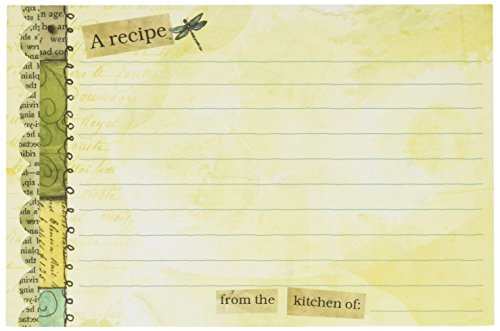 Lang Artisan 4-Inch x 6-Inch Recipe Card, Color My World