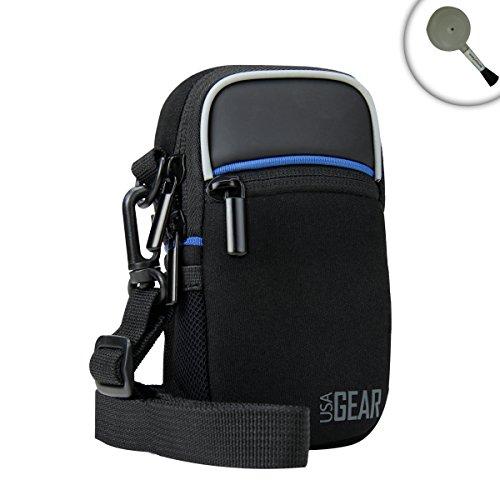 USA Gear Weather Resistant Camera Case Bag Shoulder Strap Sc