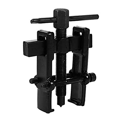 Adjustable Two Jaw Pilot Bearing Puller Tool Carbon Steel Pump Pulley Remover Straight Type