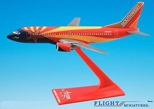 Southwest Arizona 737-300 Airplane Miniature Model Plastic Snap Fit 1:200 Part# ABO-73730H-402 by Flight Miniatures (Southwest Airlines Model Plane compare prices)