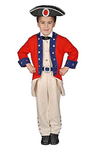 Deluxe Historical Colonial Soldier Costume Set - Small 4-6  sc 1 st  Amazon.com & Amazon.com: Deluxe Historical Colonial Solider Childrenu0027s Costume ...