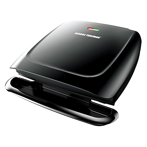 Cheap George Foreman GR2120B 8-Serving Classic Plate Grill, Black