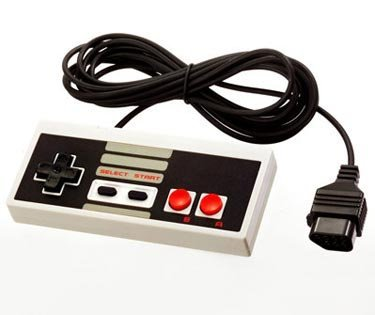HUELE Classic NES Controllers for NES 8 Bit Entertainment System Console Control Pad