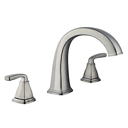 Pegasus 67416-3C04 Mason 2-Handle Deck-Mount Roman Tub Faucet in Brushed Nickel
