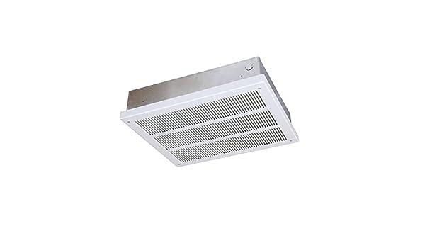 qmark eff3007 calentador de ventilador de techo montado obligados – EFF serie (con parte trasera caja) Navajo color blanco: Amazon.es: Bricolaje y herramientas