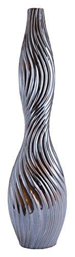Zuo Modern A11449 Urchin Large Vase, Black by Zuo Modern