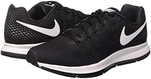 Nike Men's Air Zoom Pegasus 33 Running Shoes FA16, Black