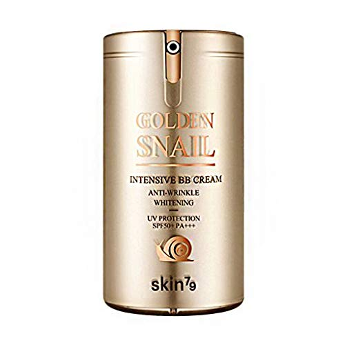 [SKIN79] Golden Snail Intensive BB Cream (SPF50+/PA+++) 45g - Moist and Smooth Finish, Golden snail For weak and dry skin, BB cream, 45g, Gold, 1piece