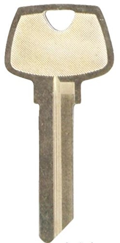 Kaba Ilco Sargent 6 Pin RB Nickel Silver Key Blank (O1007RB) Box of 50 by Kaba Ilco