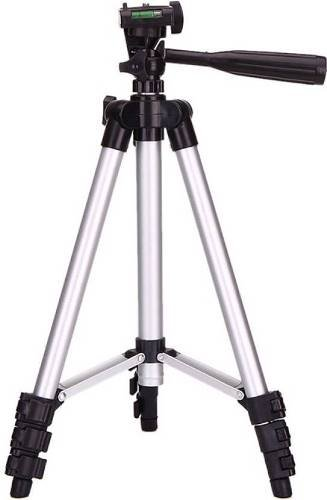 SnapGear 50-Inch Lightweight Tripod for all digital Cameras Tripod Kit with Bag( Supports Up to 3000 g)( Silver) Tripod Heads at amazon